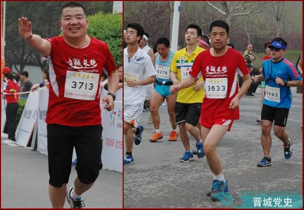 相约在郑开国际马拉松的跑道上